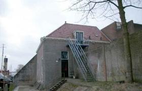 Oude pannen Scoutinggebouw Medemblik