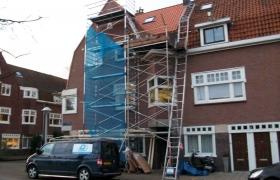 Nieuwe dakpannen - Amsterdam