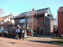 Nieuwe dakpannen - Wormer